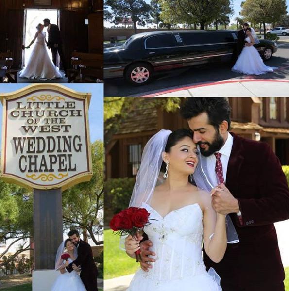 Mahhi and Jay Christian wedding