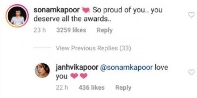 Sonam Kapoor Ahuja and Janhvi Kapoor