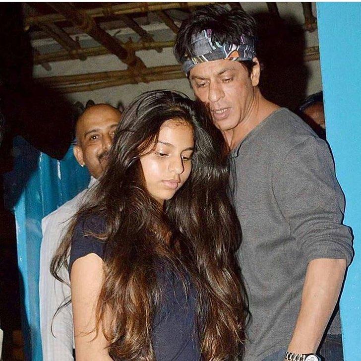 Suhana Khan and Shah Rukh Khan
