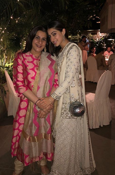 Sara and Amrita Singh