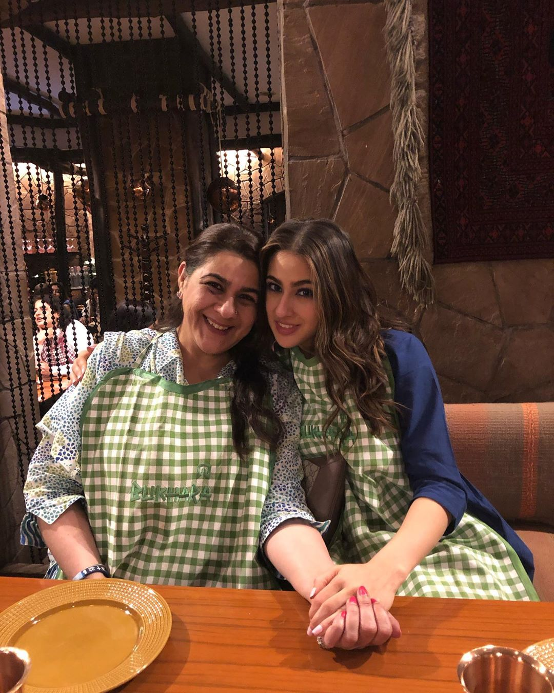 Sara and Amrita