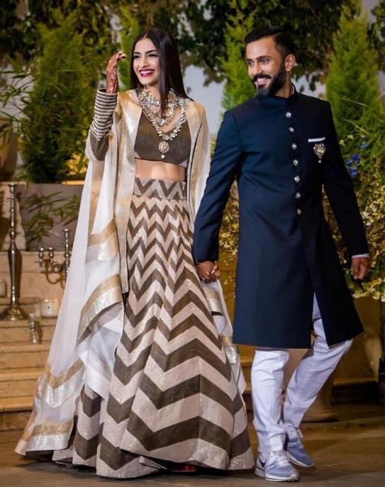 Anand Sonam Ahuja Surprises Sonam Kapoor Ahuja