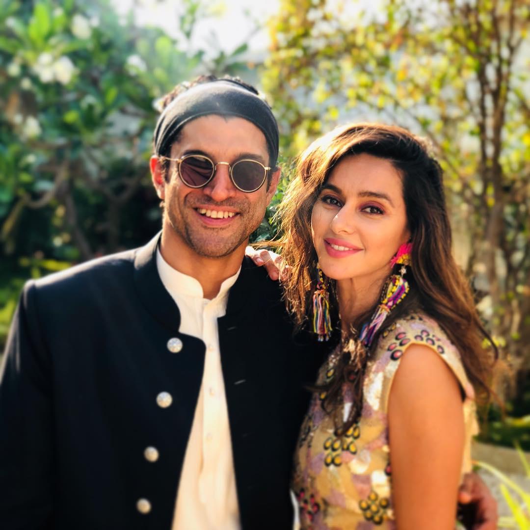Farhan Akhtar and Shibani Dandekar