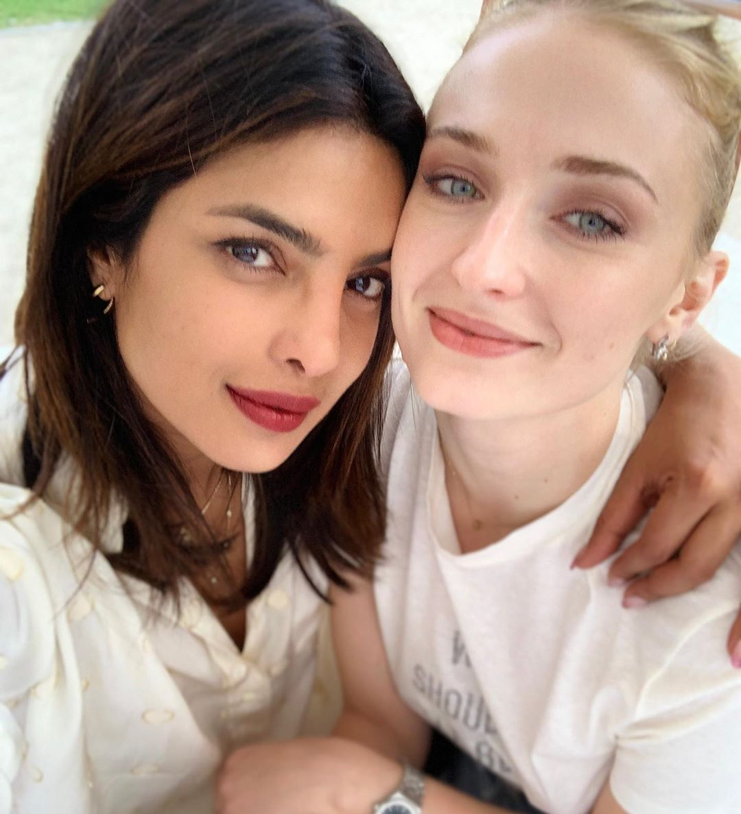 Priyanka Chopra and Sophie Turner