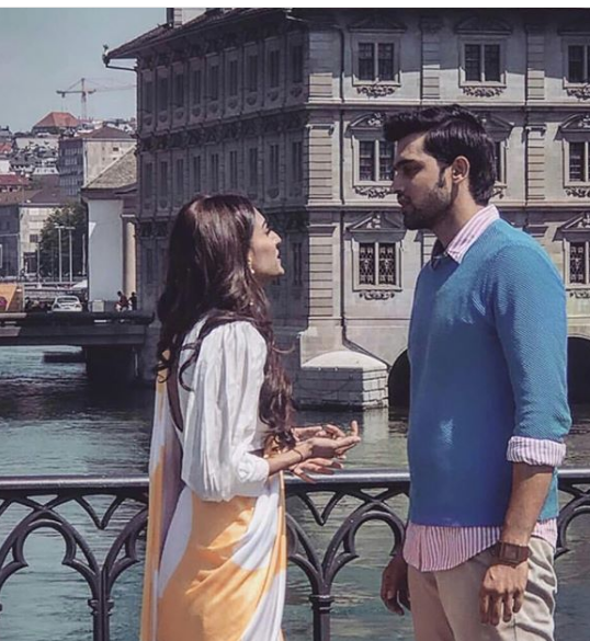 Parth and Erica's dreamy Switzerland pictures