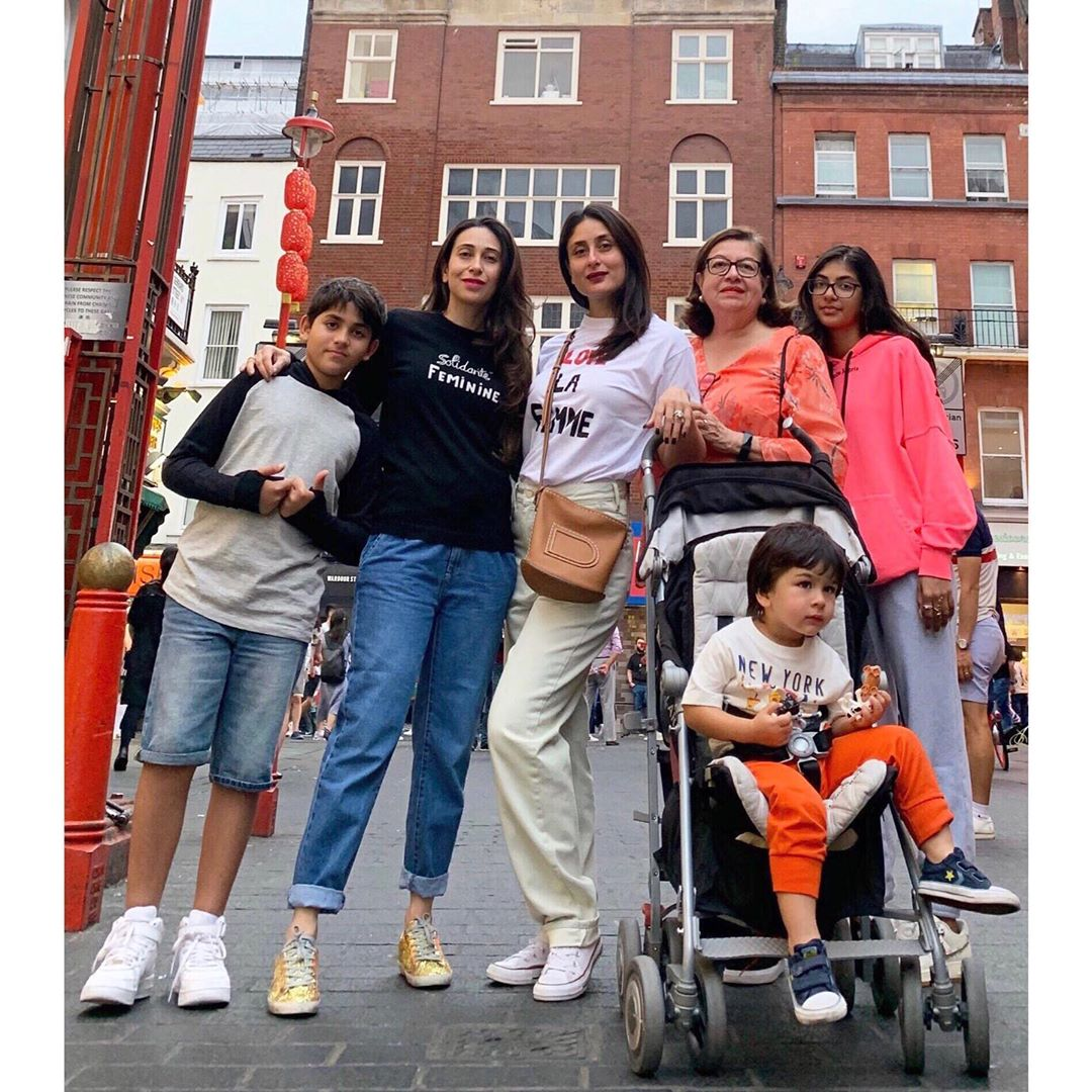 Kapoor Family In London