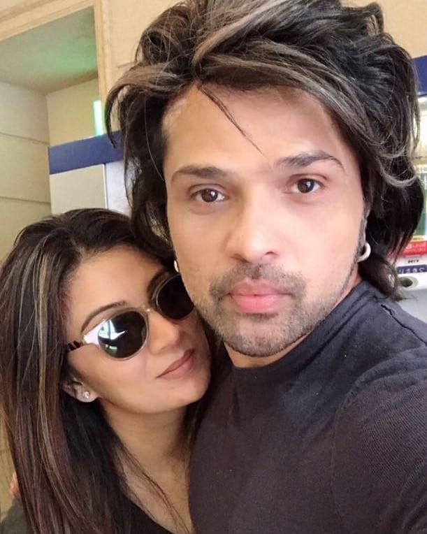 Himesh Reshammiya and Sonia Kapur