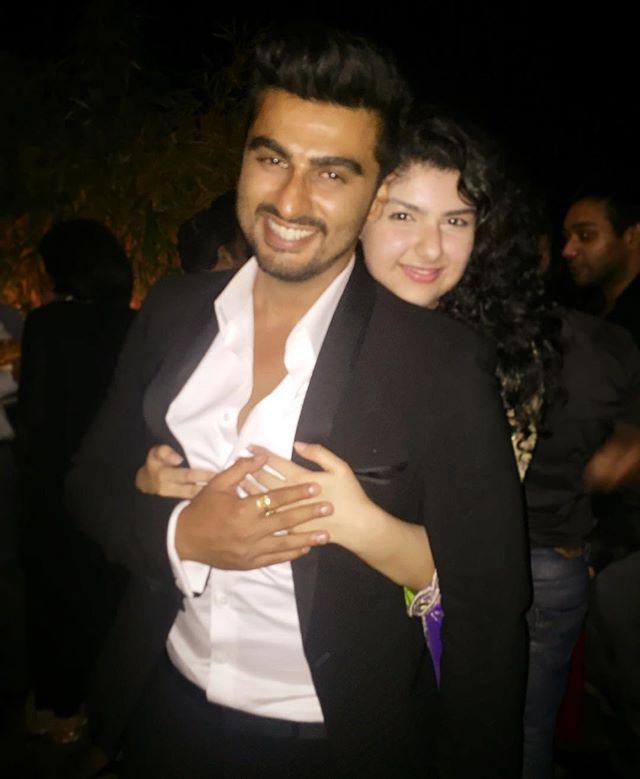 Arjun Kapoor and Anshula Kapoor