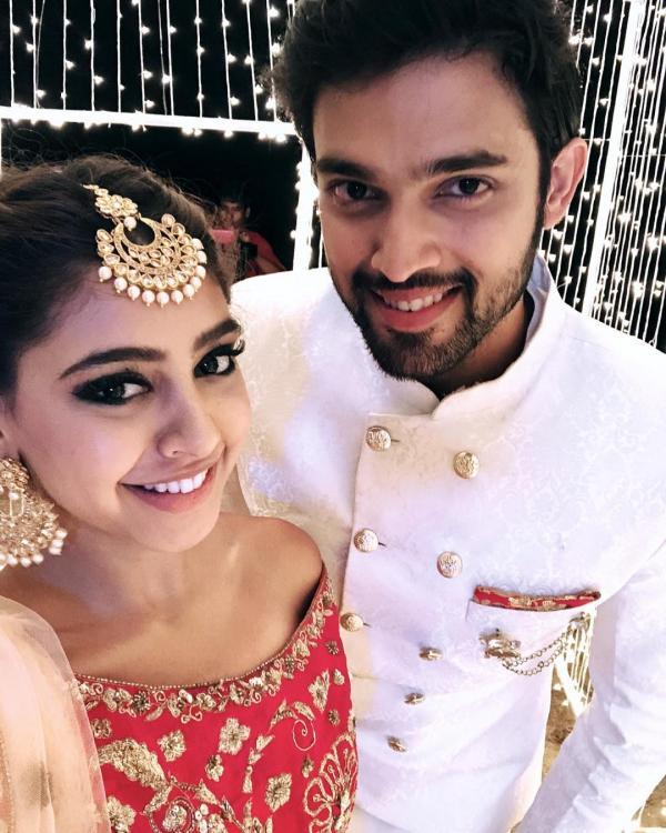 Parth Samthaan and Niti Taylor