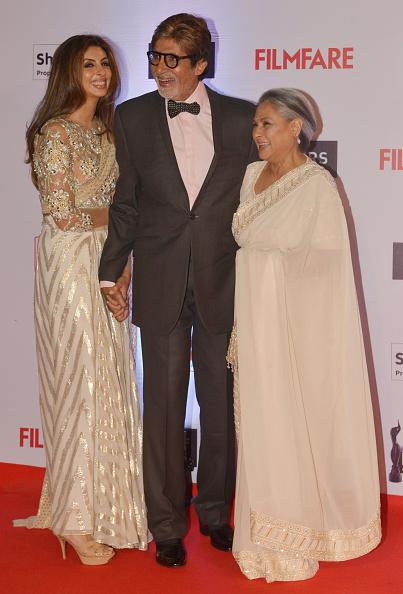Shweta Bachchan, Amitabh Bachchan and Jaya Bachchan