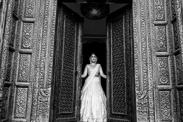 keshavi white kaleera bride