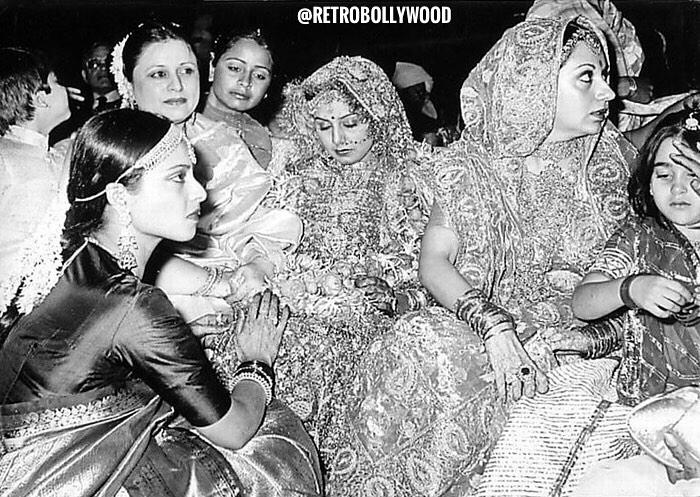 Neetu Kapoor and Rekha