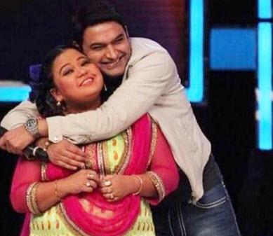 Kapil and Bharti