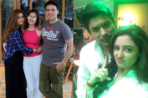 Arti and Sidharth with exs
