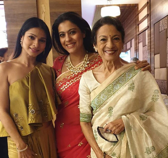 kajol, tanisha and tanuja