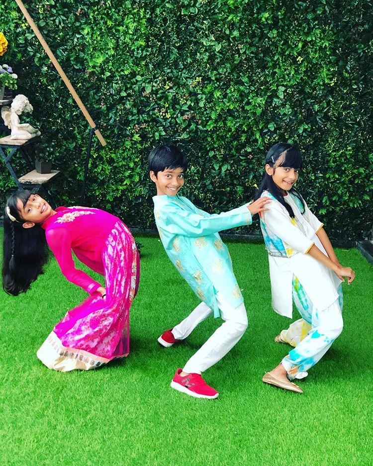 Farah khan kids