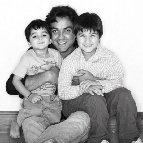 Bobby Deol's kids