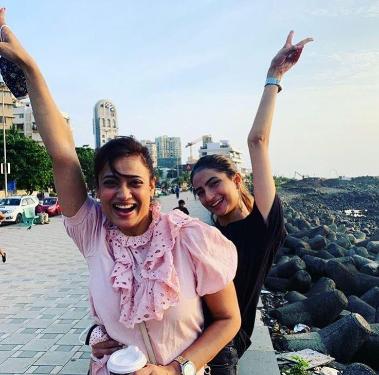 Shweta Tiwari and Palak Tiwari