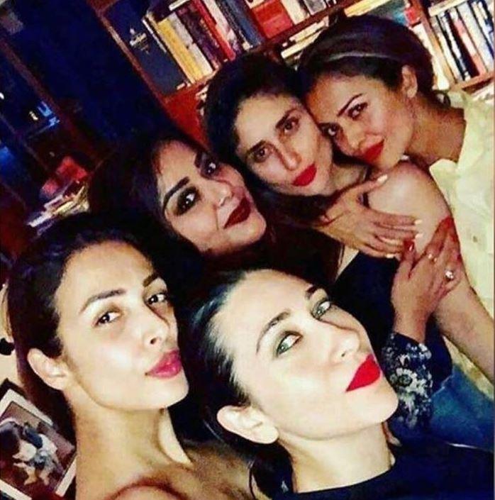 Kareena kapoor Khan Amrita Arora Malaika Arora  and Mallika Bhatt