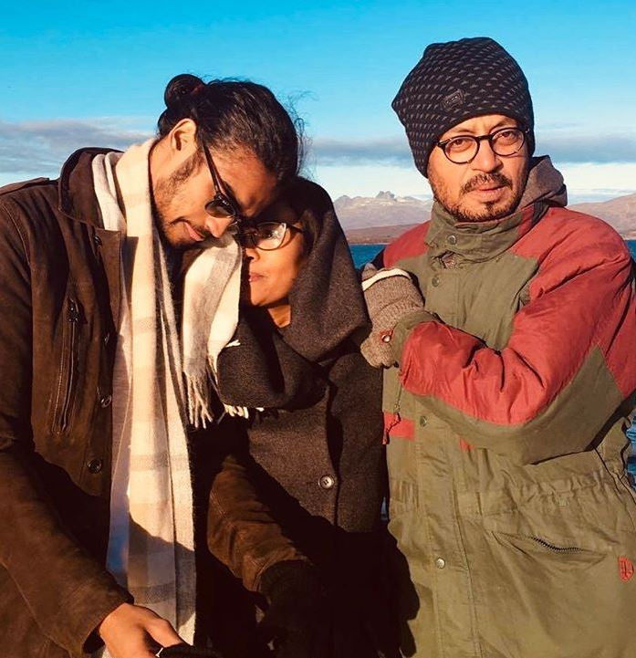 Irrfan Khan and family
