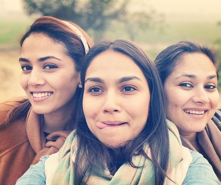 Mira Rajput Kapoor and her sisters