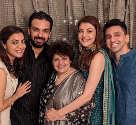 Kajal Aggarwal Family