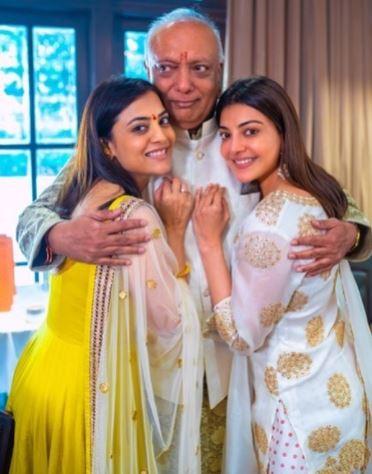 Kajal Aggarwal Father