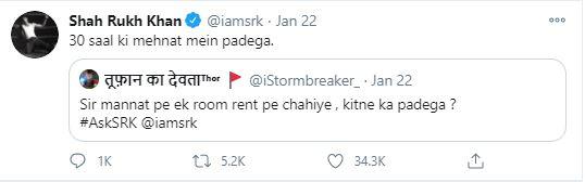 Shah Rukh Khan Mannat