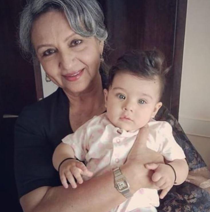 Sharmila Tagore and Inaaya Naumi Kemmu