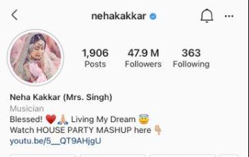 Neha Kakkar Singh