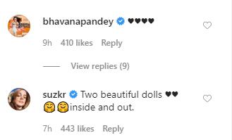 Ananya Panday and Suhana Khan