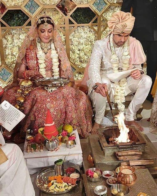 Kajal Aggarwal and Gautam Kitchlu