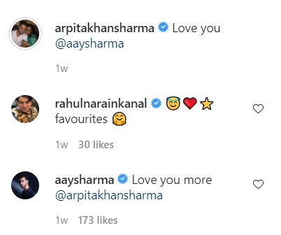 Arpita Khan and Aayush Sharma