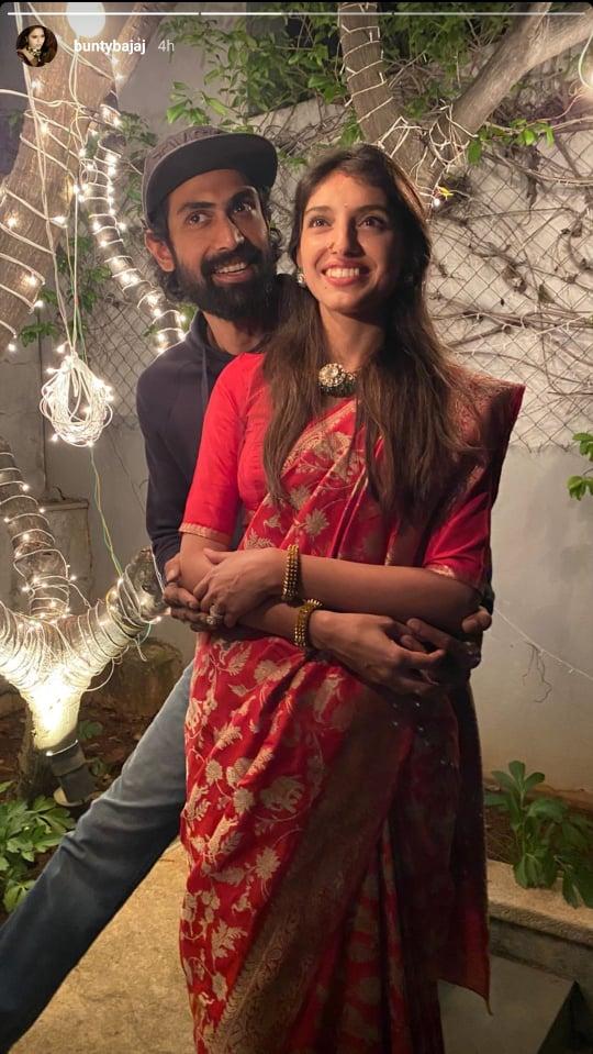 Rana Daggubati and Miheeka Bajaj