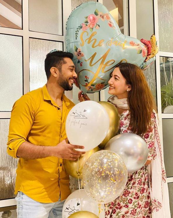 Gauahar Khan and Zaid Darbar