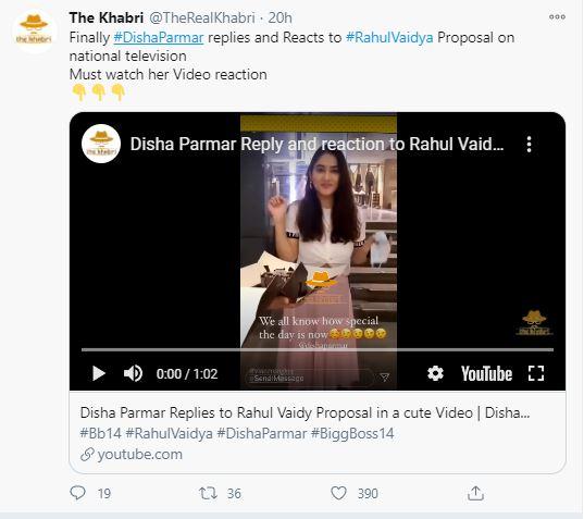 Rahul Disha Proposal