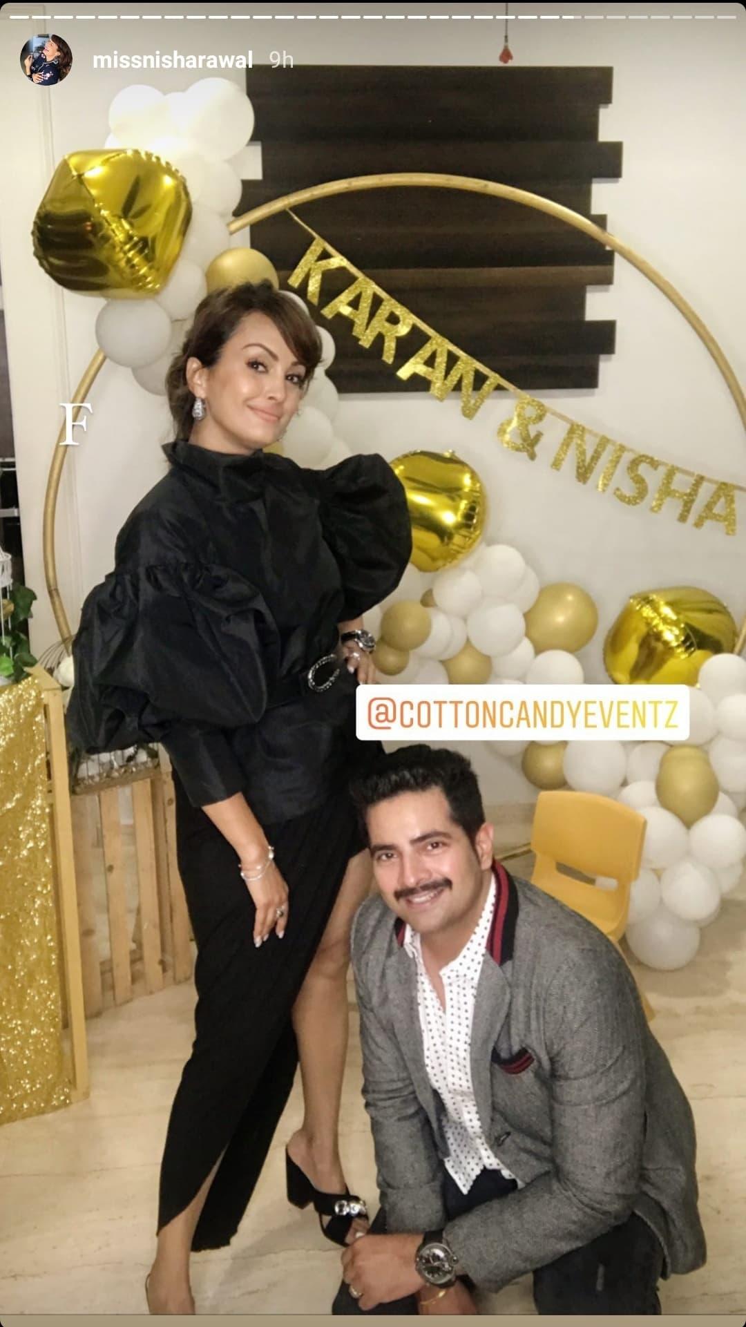 Karan Mehra and Nisha Rawal