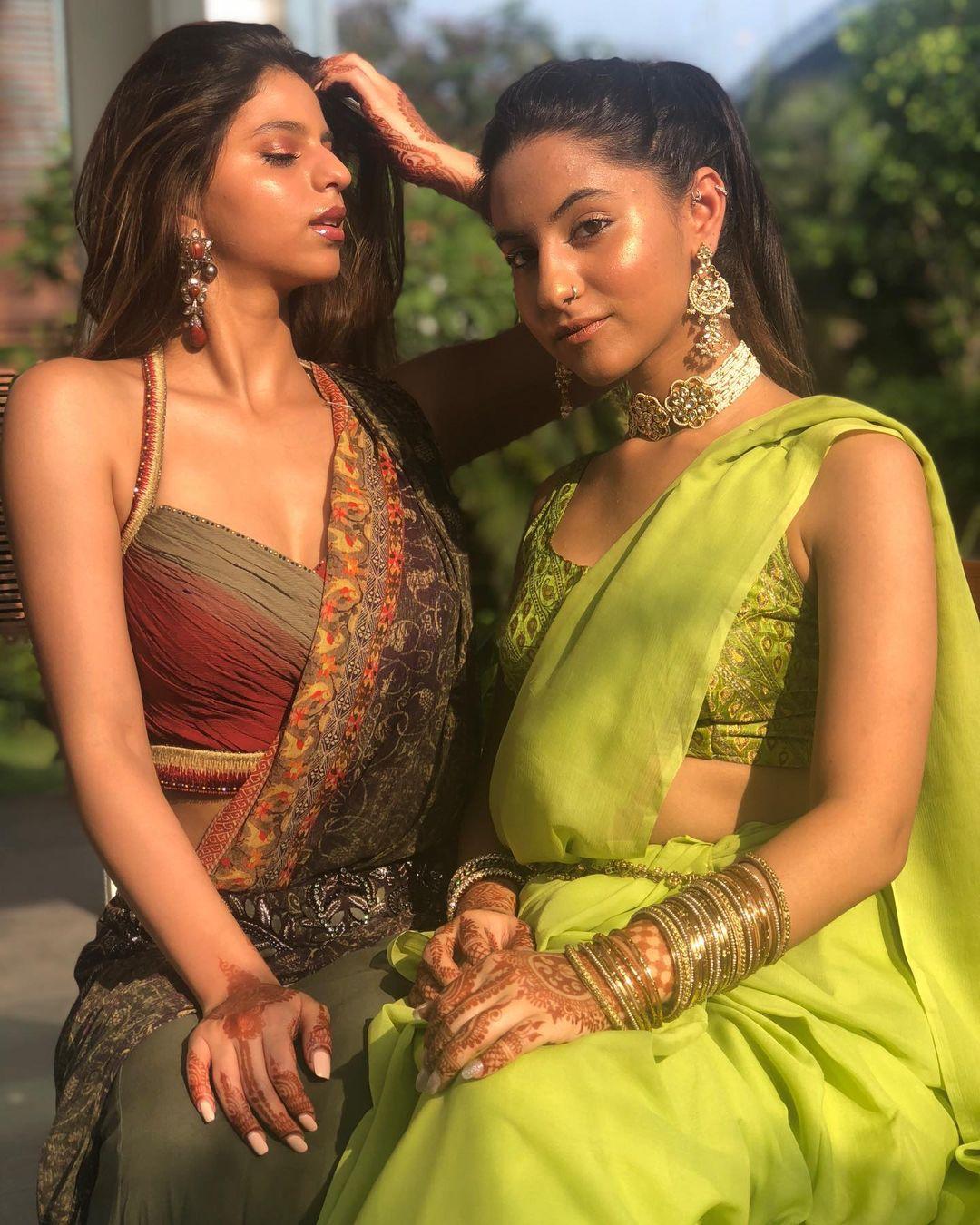 Suhana Khan and Alia Chhiba
