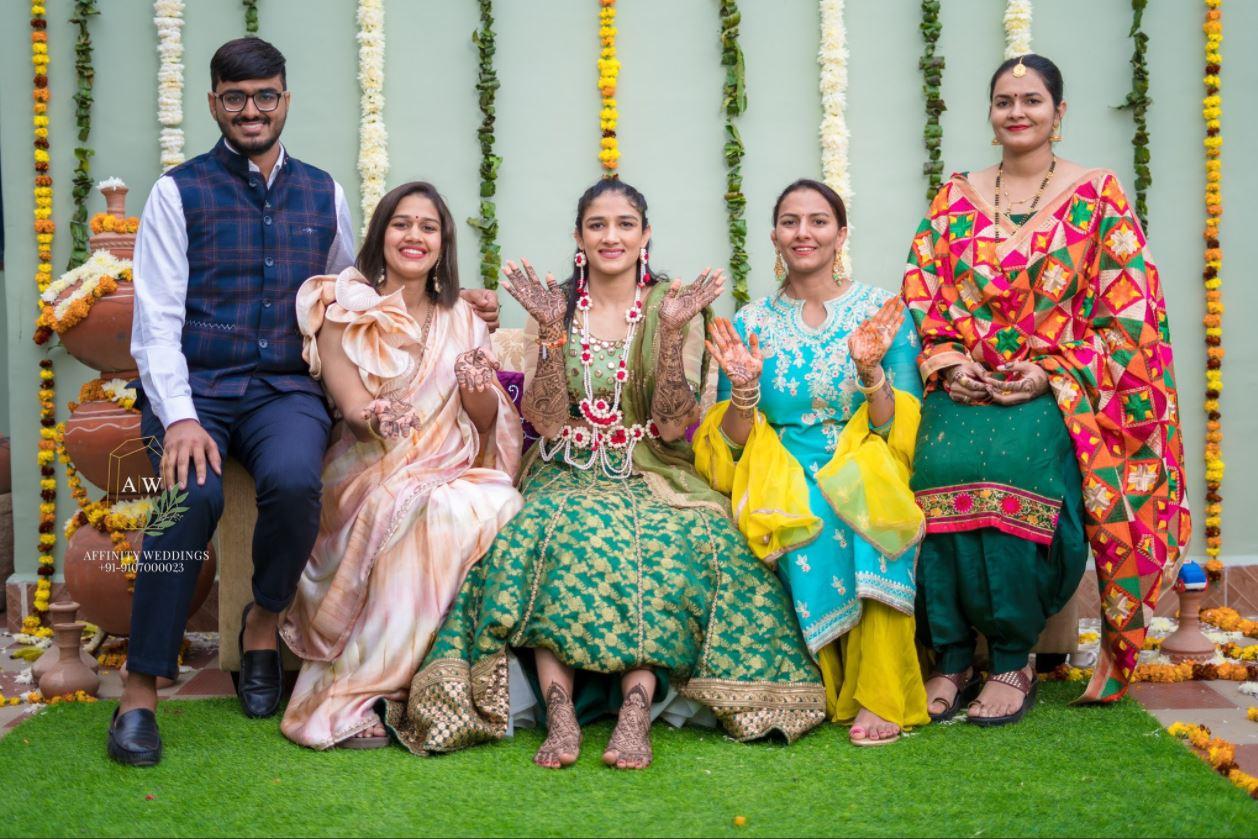 Geeta Phogat, Babita Phogat and Sangeeta Phogat