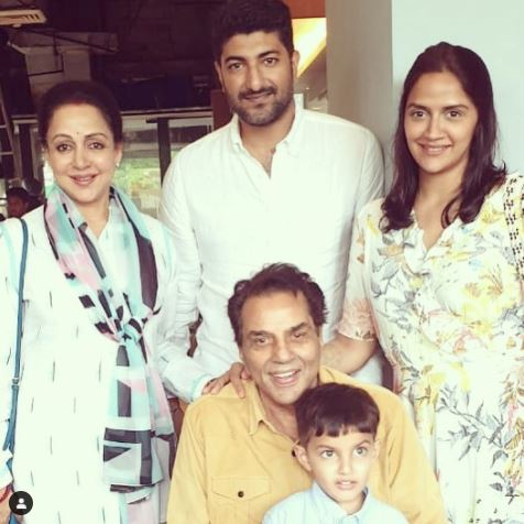 Ahana Deol Family