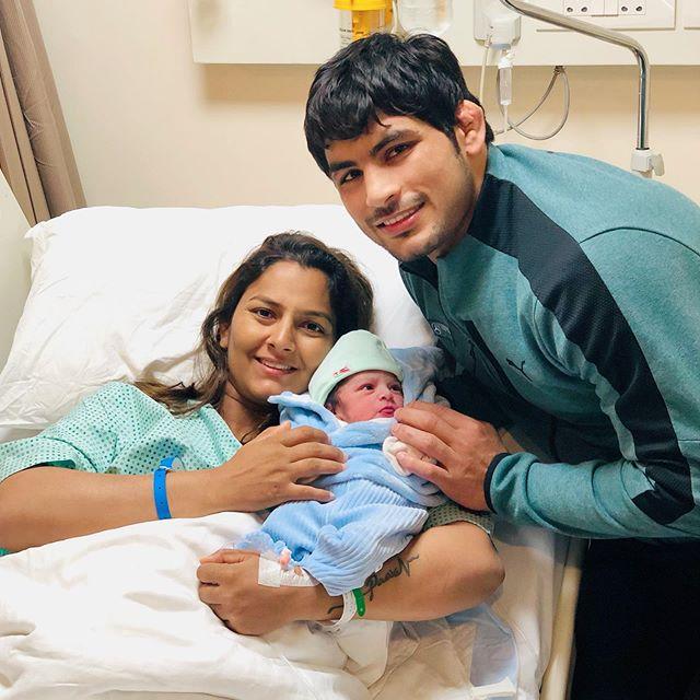Geeta Phogat and Pawan Kumar Saroha
