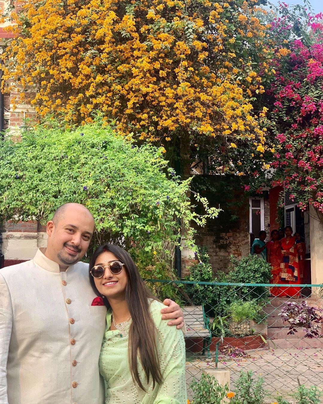 Mohena Kumari Singh and Suyesh Rawat