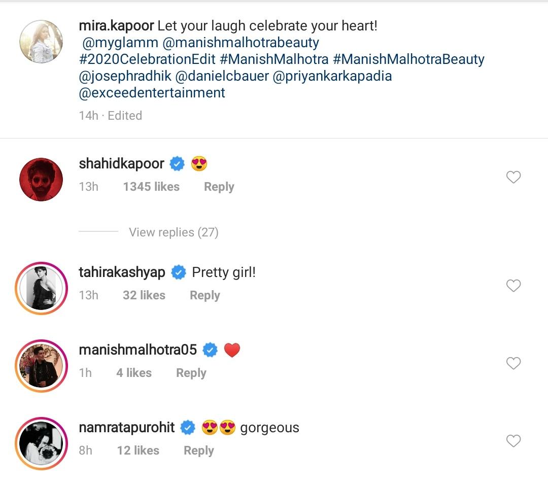 Instagram Comment