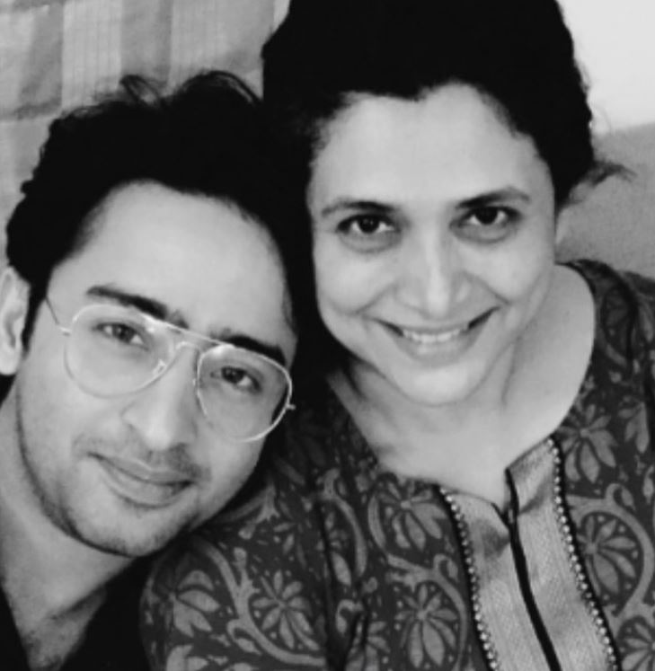 Supriya Pilgaonkar and Shaheer Sheikh