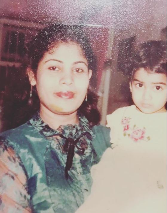 Genelia Deshmukh with her mother