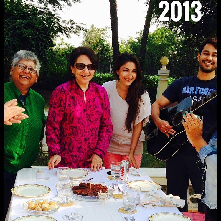 Sharmila Tagore, Soha Ali Khan et Kunal Kemmu