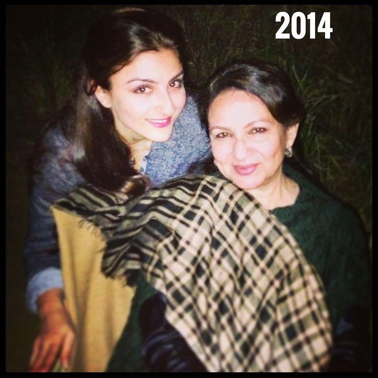 Sharmila Tagore et Soha Ali Khan
