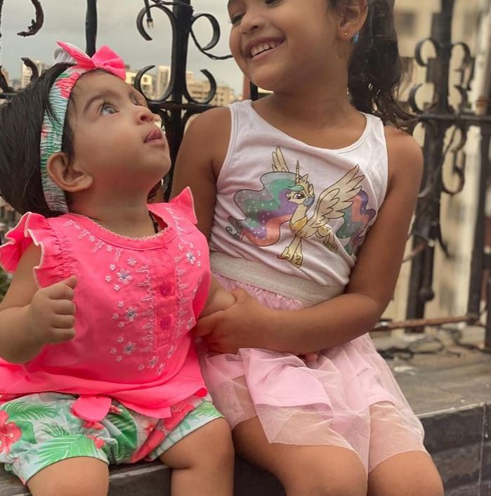 Khushi Ray and Tara Jay Bhanushali