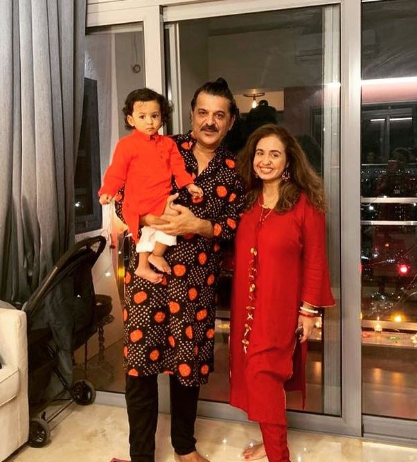 Rajesh Khattar and Vandana Sajnani Khattar