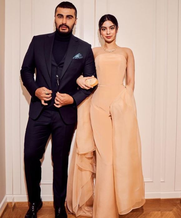 Khushi Kapoor and Arjun Kapoor